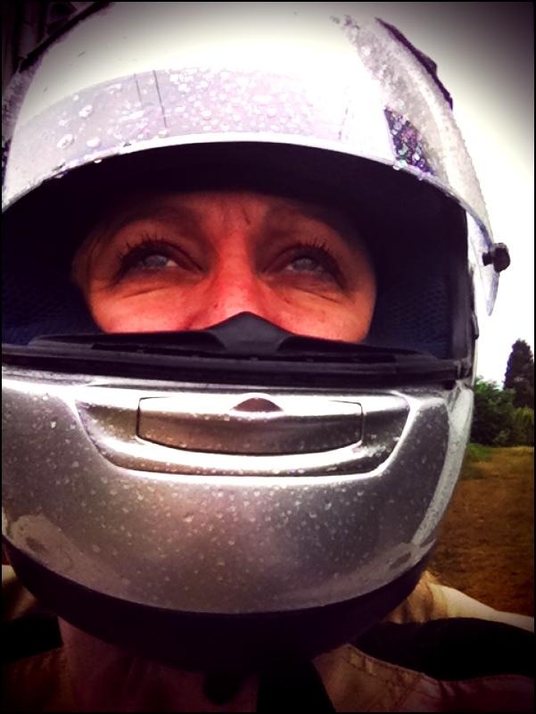 Kathy In Rain