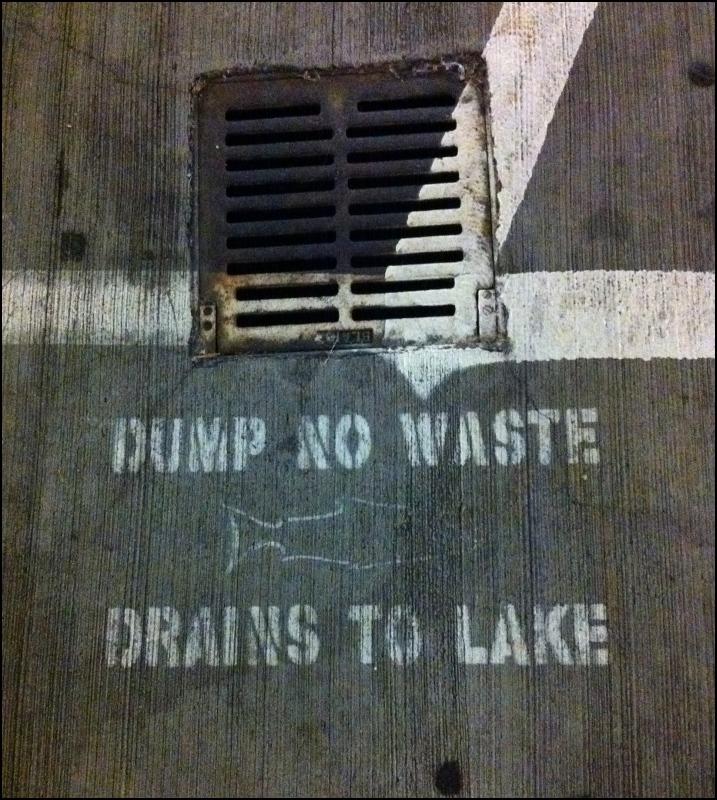 Dump No Waste - Parking Garage