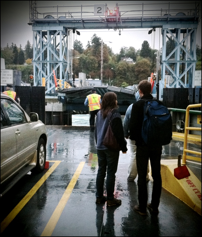 Waiting For Ferry To Dock