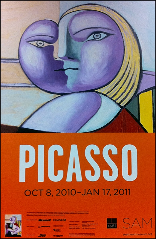 Picasso Exhibit Poster