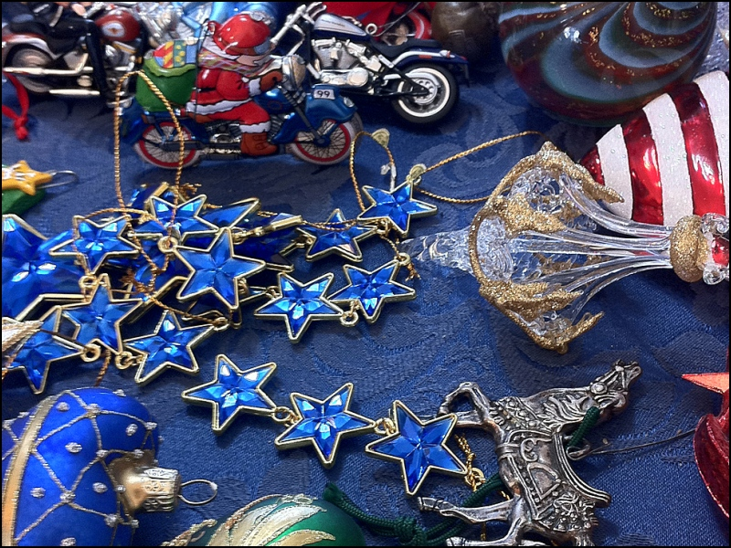 Sorting Christmas Ornaments