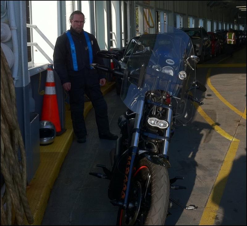 On The Vashon Ferry