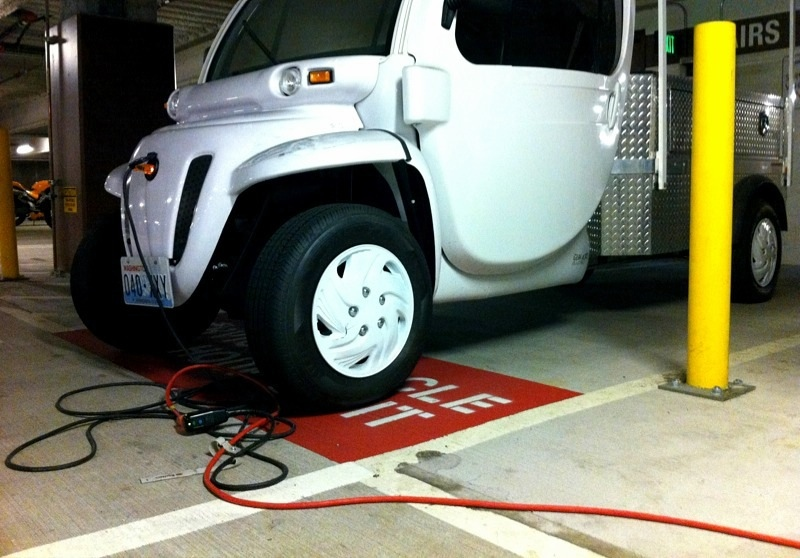 Electric Truck - Charging